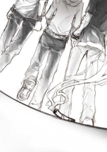 Yamamoto, Tsuna & Gokudera