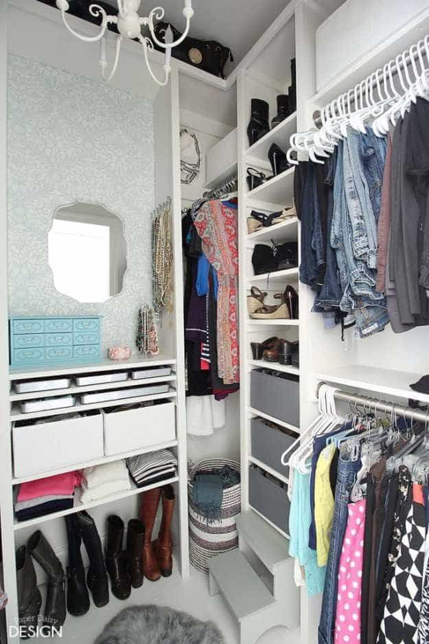 Closet Makeover With Dressing Room Space