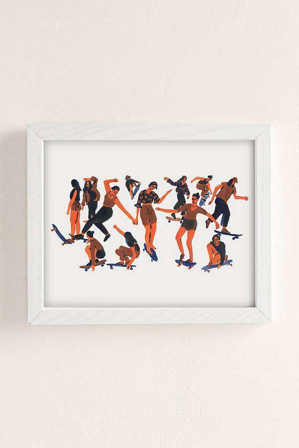 living room art prints%0A Image result for Leah Reena Goren Skaters Art Print  Bedroom