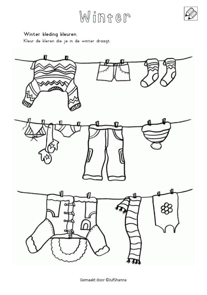 winter kleding kleuren kleur de kleren die je in de