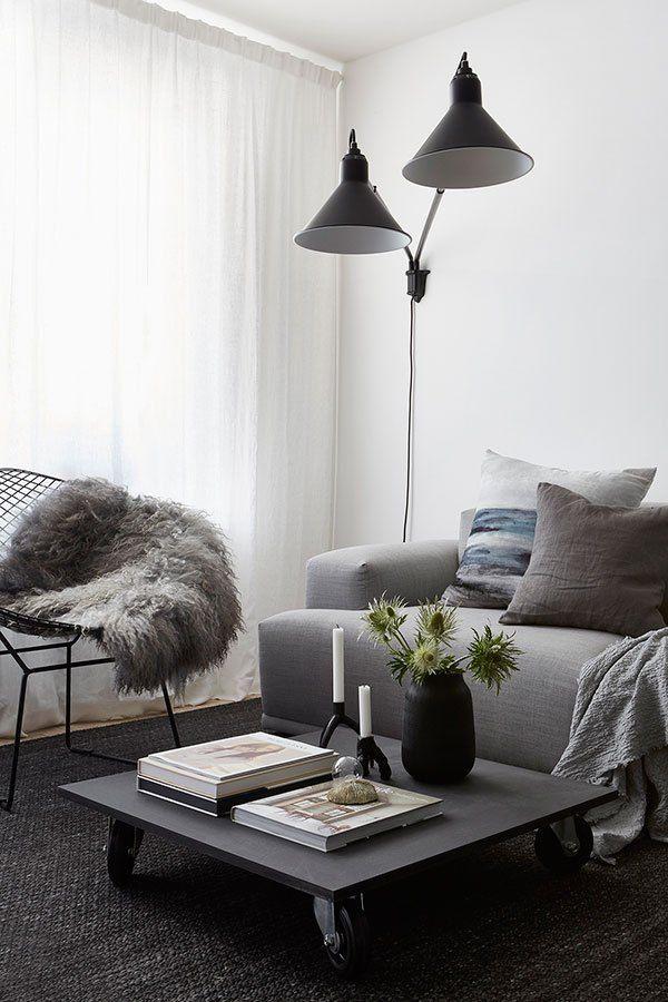 cozy newly build home via coco lapine design blog mis hogares rh pinterest com