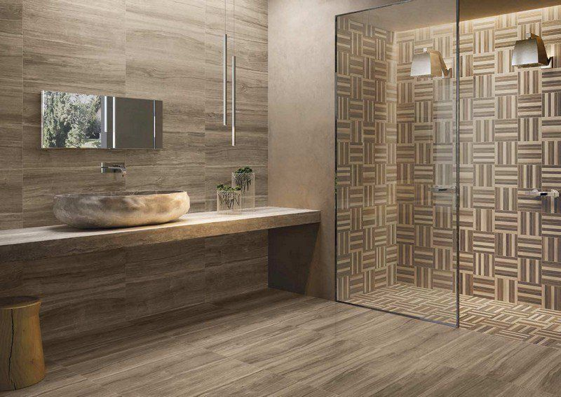 salle de bain moderne les tendances actuelles en 55 photos - Caillebotis Salle De Bain Bois