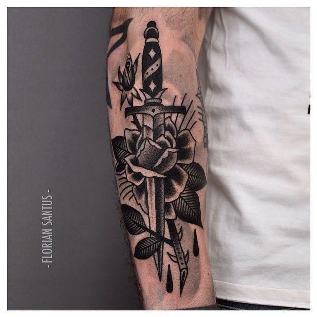 Tats Tattoos Dagger Tattoo Grey Tattoo