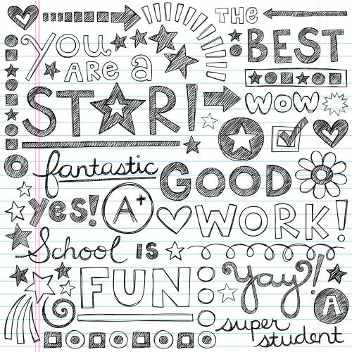 Super Student Doodle Page 1 Kidspressmagazine Com Doodle Pages Notebook Doodles Sketch Book