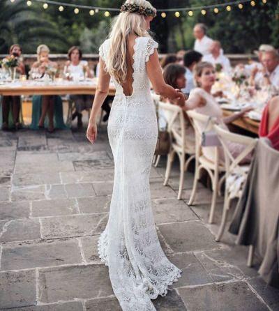Boho Wedding Tumblr Wedding Dress Cap Sleeves Bohemian Wedding Dresses Wedding Dresses Images