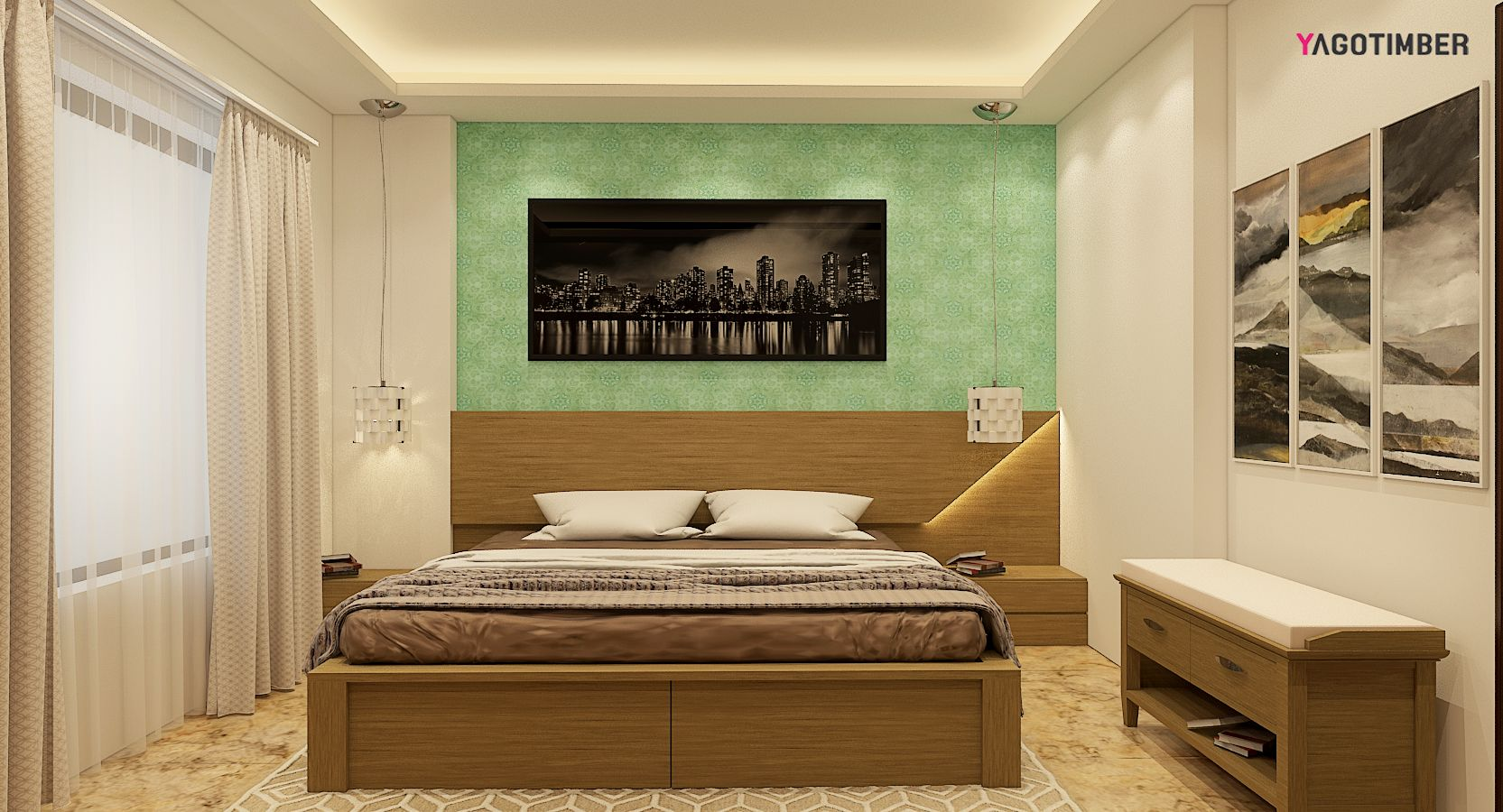 Designing Bedroom Design Is A Balance Between Form & Function It Takes Two