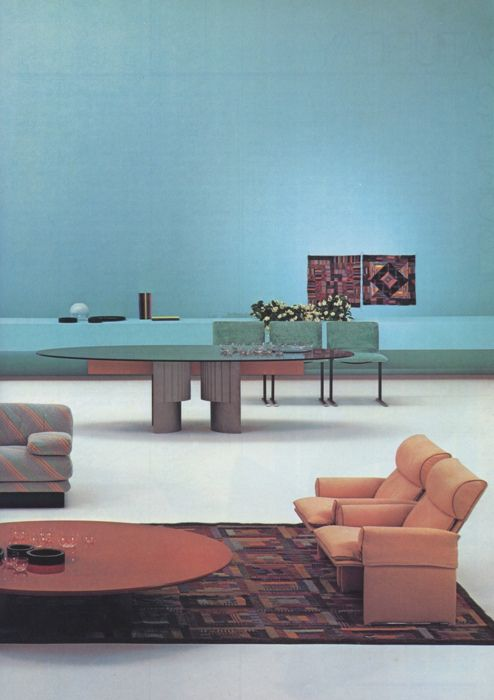 retro interior living room architecture design pinterest rh pinterest com