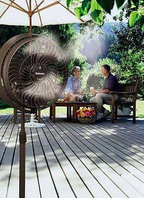 Misting Fan Cooling Spray Outdoor Patio Mister Water Pets Portable Mist Fans Fan Outdoor Fan Misting Fan Outdoor Misting Fan