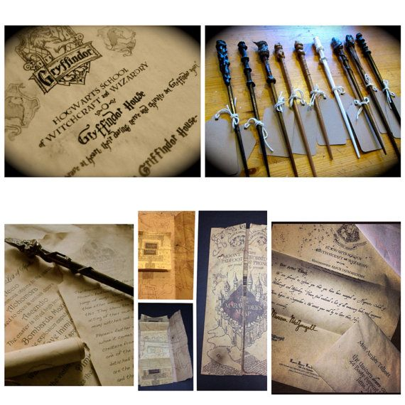 The Complete Hogwarts Acceptance Letter Kit Personalized Harry - hogwarts acceptance letter