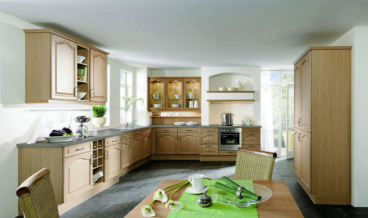 L Shaped Kitchen The L shaped kitchen can