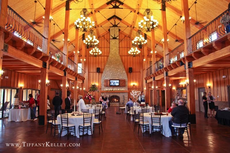The Les At Integrity Hills A Unique Setting For Branson Mo Wedding Receptions And