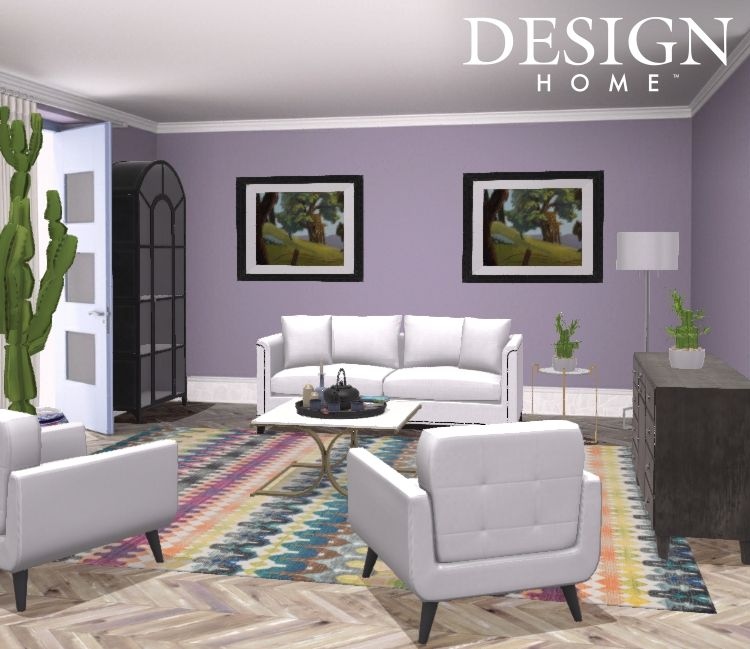 Modern living room design by tiffani valencia
