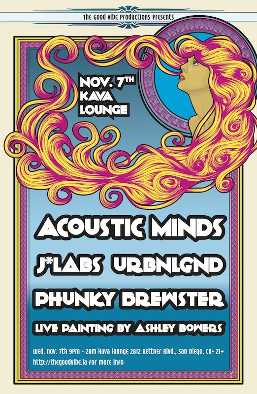 11.7.12 The Good Vibe (LA) Presents:  All Female Artist lineup, I closed out the night with a very future bass set inspired by funk, soul, and vintage organs.  http://soundcloud.com/urbnlgnd #femaledj #bassmusic #edm #ukbass #urbnlgndbass