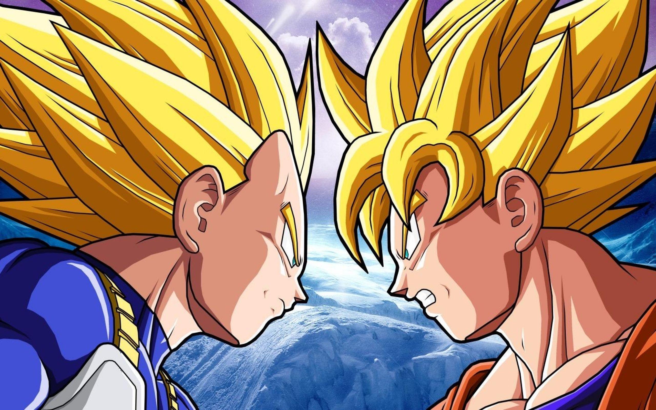 Vegeta and Son Goku Wallpaper Anime Pinterest Goku