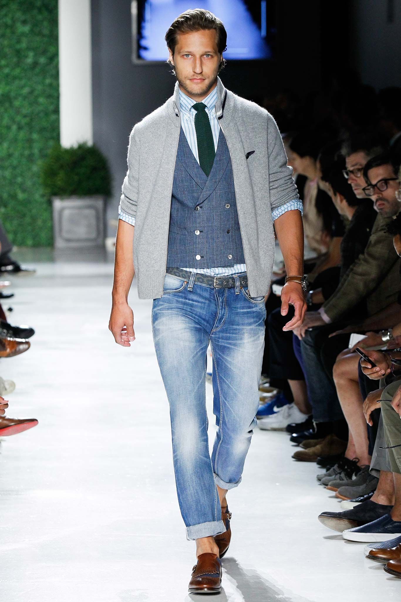 Michael bastian spring menswear collection gallery style