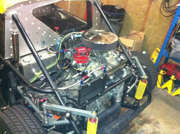 for sale custom mini cooper with a mid engine v8 engines rh pinterest com