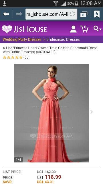 Bridesmaids dress ideal