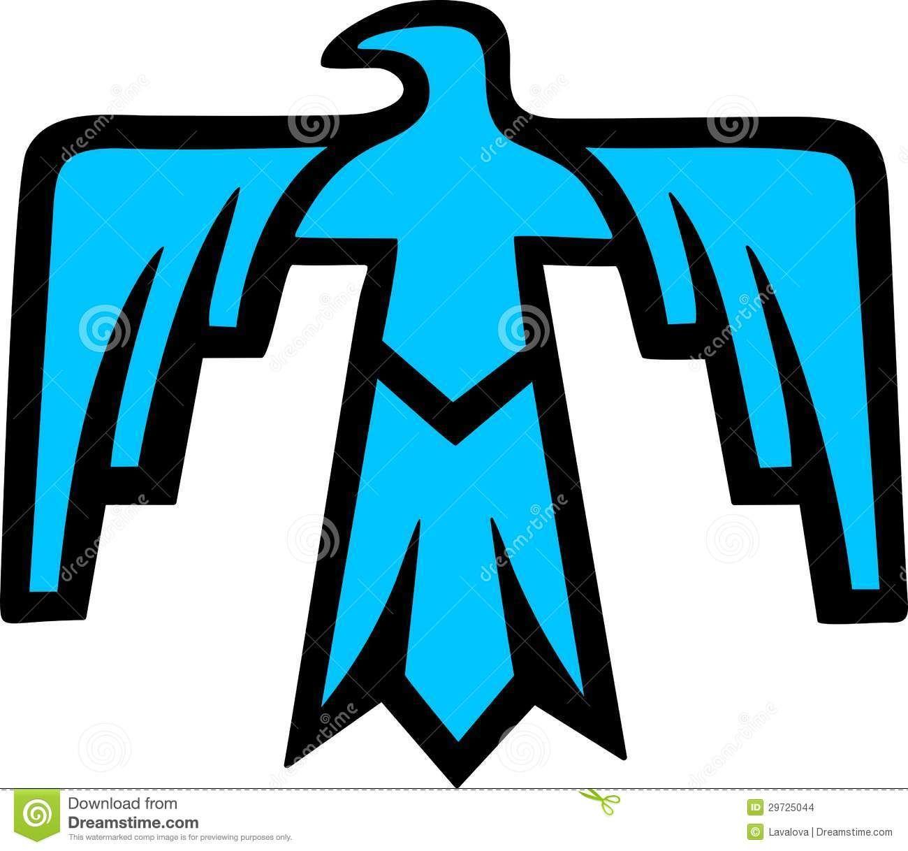 thunderbird native american symbol stock images image 29725044 rh pinterest co uk  native american indian symbols clip art