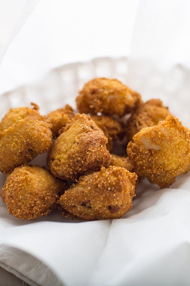 Hush Puppies With Crab and Bacon Recipe (With images