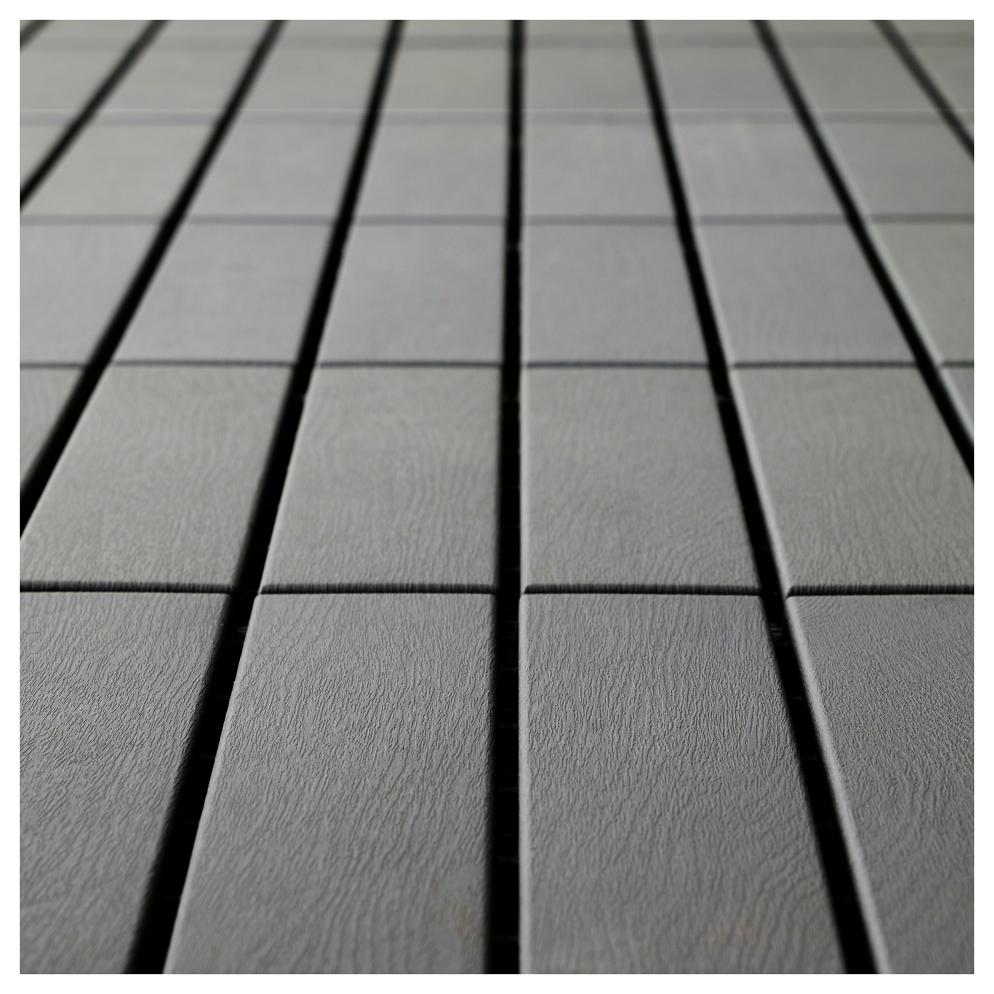 RUNNEN Floor decking outdoor Grey 081 m  Hildago House