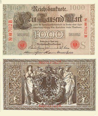 vitage banknotes | Vintage German Banknotes 1910 Mint Original Lot Of 10 used, new for ...