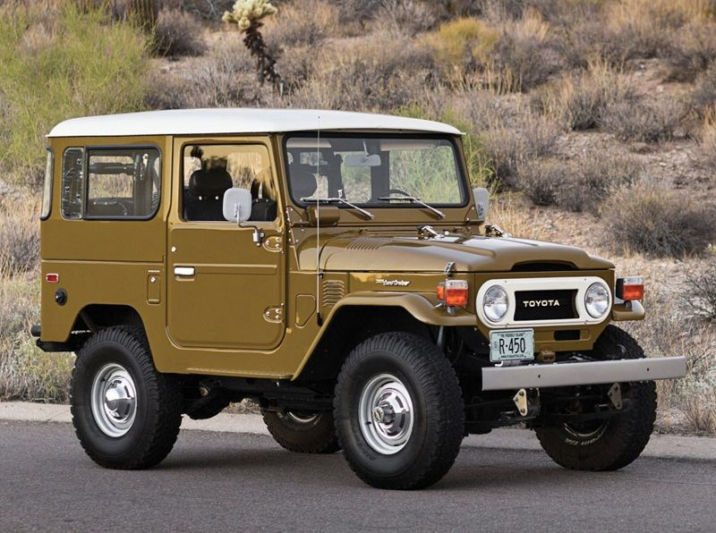 The Greatest Toyota Cars 1960 Land Cruiser Fj40 Pictures