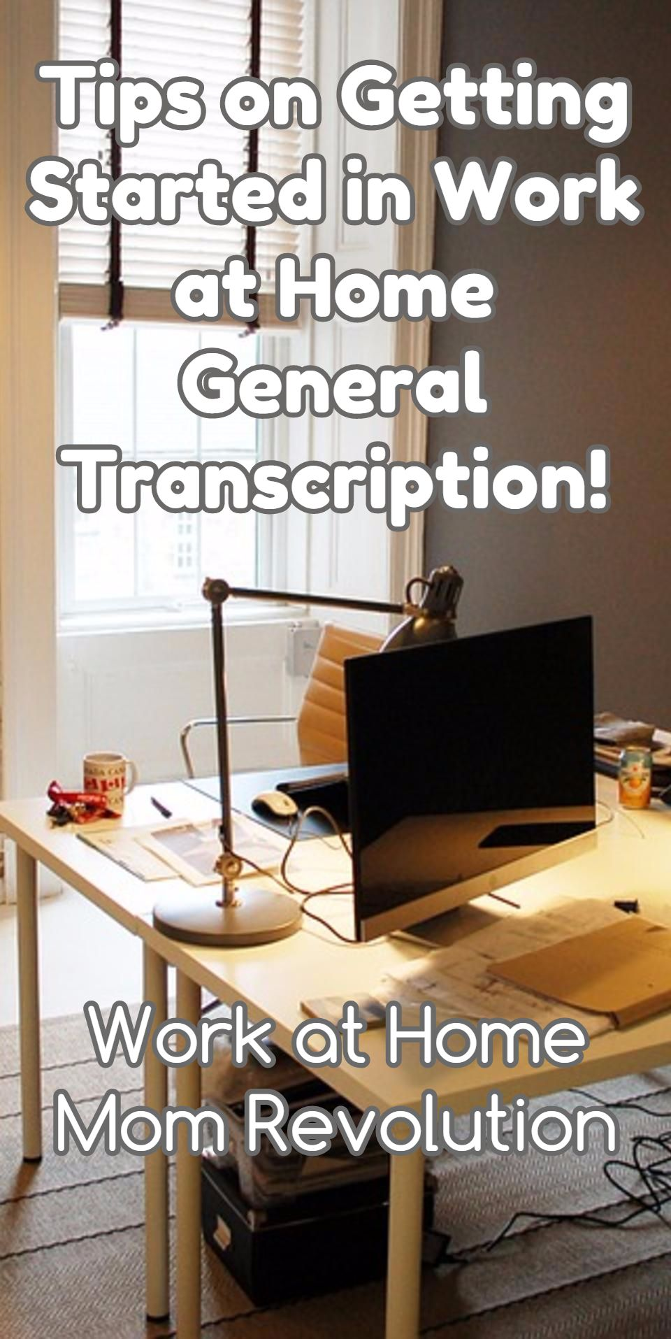 work at home transcription tips on getting started work at home rh pinterest com