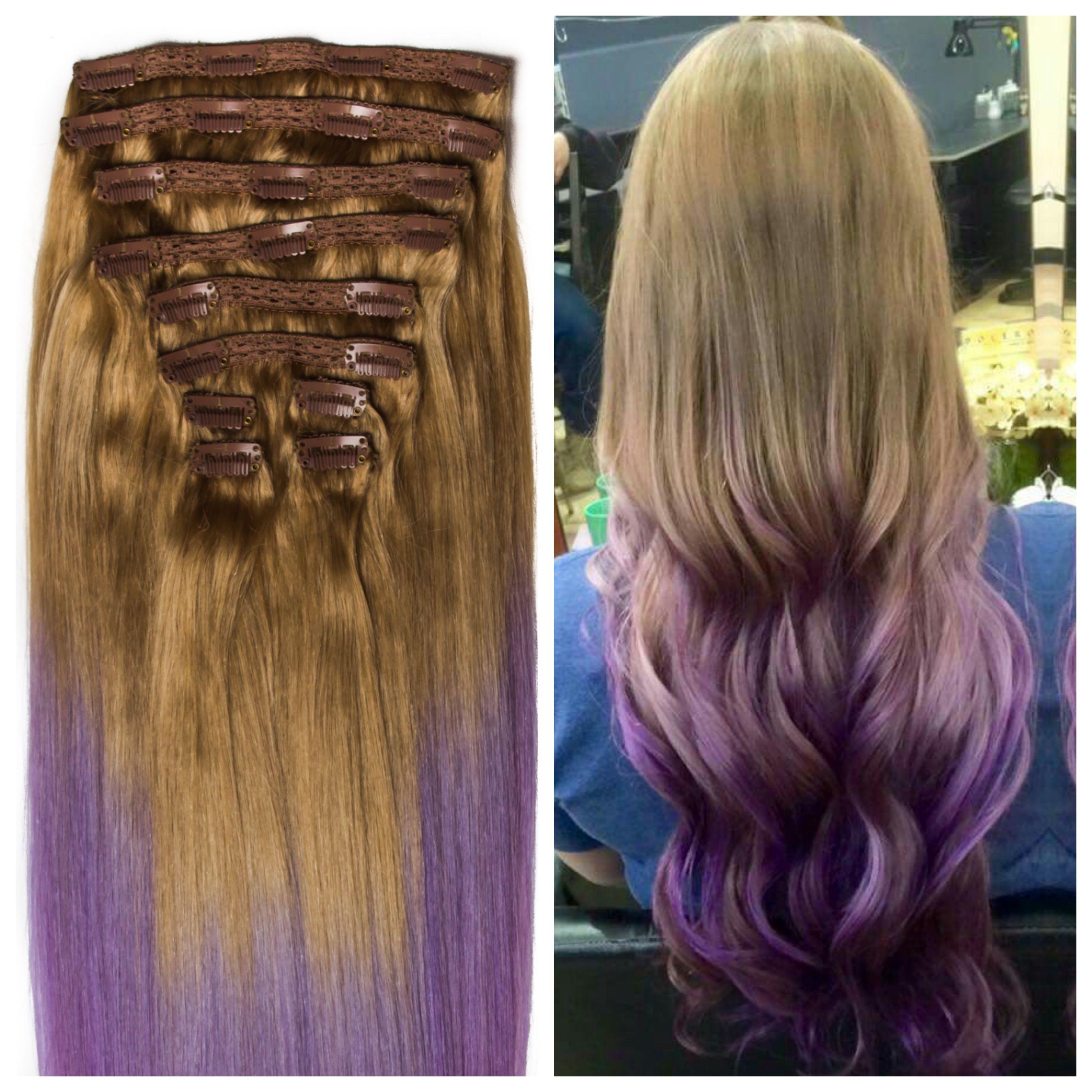 Extensii Clip On Premium Blond Alunamov Hair Extensions Poze