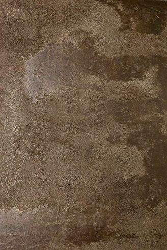 Pittura Bronzo Per Pareti.Effetto Bronzo Materico Su Parete Decorazioni Colori Pareti