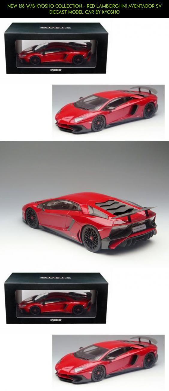 new 1 18 w b kyosho collection red lamborghini aventador sv rh pinterest com