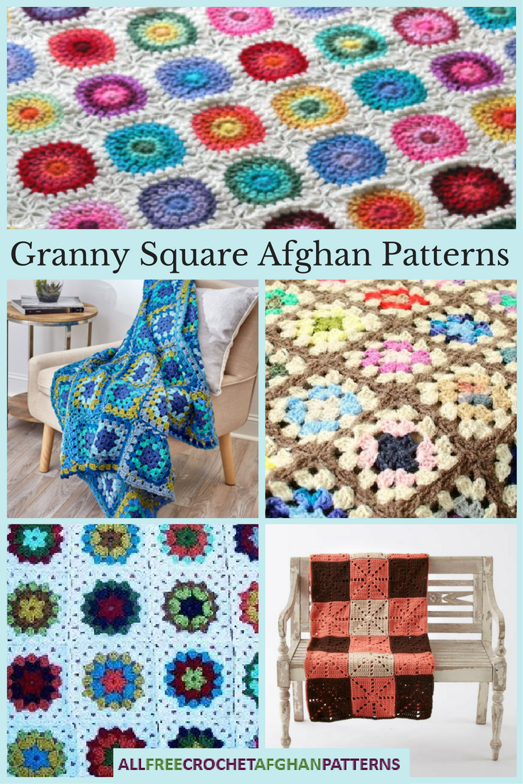 Granny Square Afghan Pattern Best Inspiration