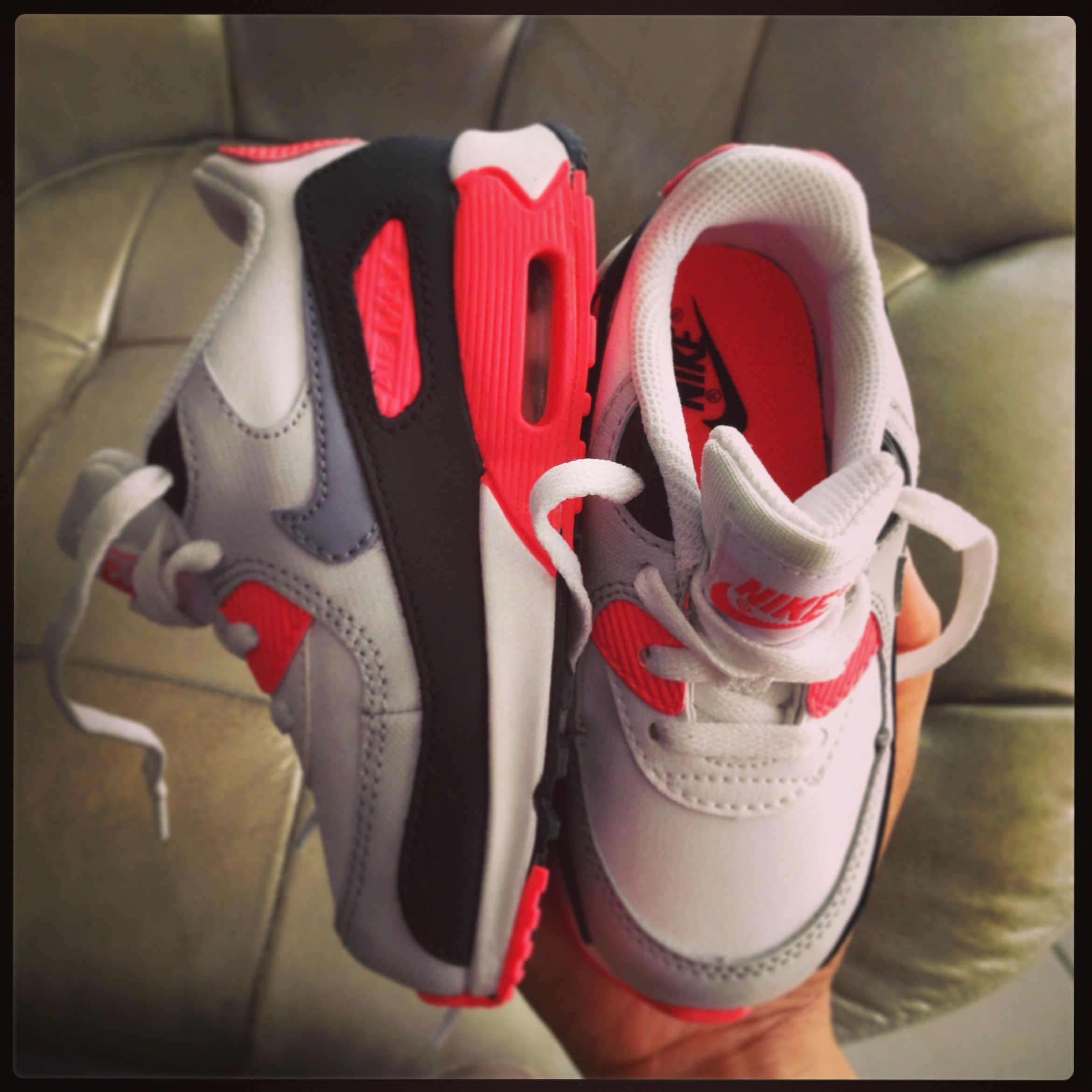 Baby's Nike Air Max 90 Infrared