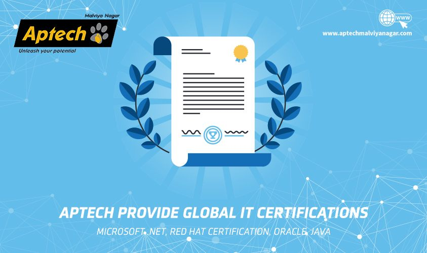 Aptech Malviya Nagar Provide Global It Certifications In
