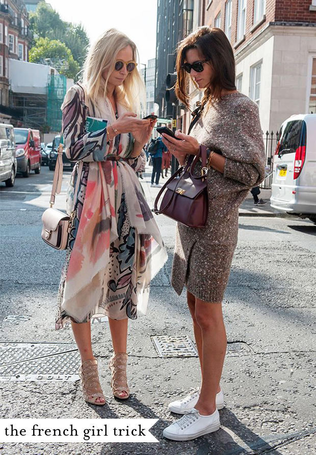 A French Girls Trick To Getting Dressed Cupcakes And Cashmere Street FashionFrench