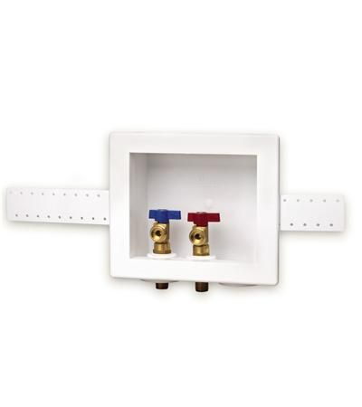 Double Outlet Supply Boxes Oatey Recessed Washing Machine Outlets Recessed Outlets Commercial Plumbing Washing Machine