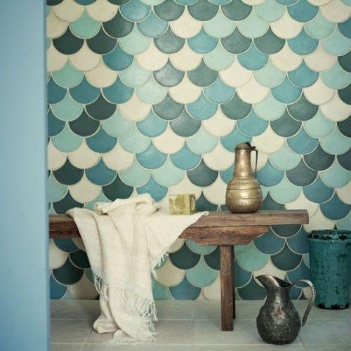 Idées et inspirations pour une Déco Bleue ! | Salle de bain ...