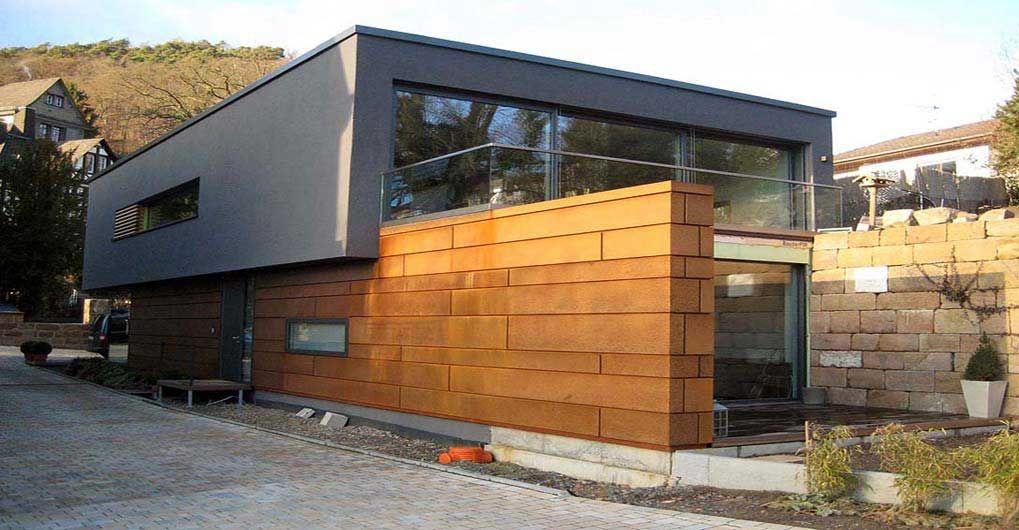 Cortenstahl Fassaden Exterior