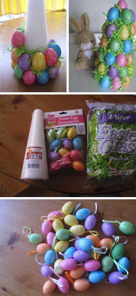 Easter Egg Tree Tutorial DIY Easter