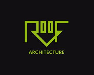 20 Creative Logos Inspired By Houses Roofing Logo Creative Logo Roofing Company Logos
