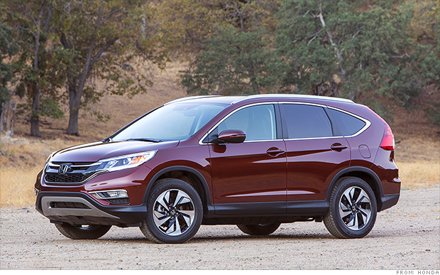 Honda Cr V Named Suv Of The Year Yes Best Make Out There Love Hondas