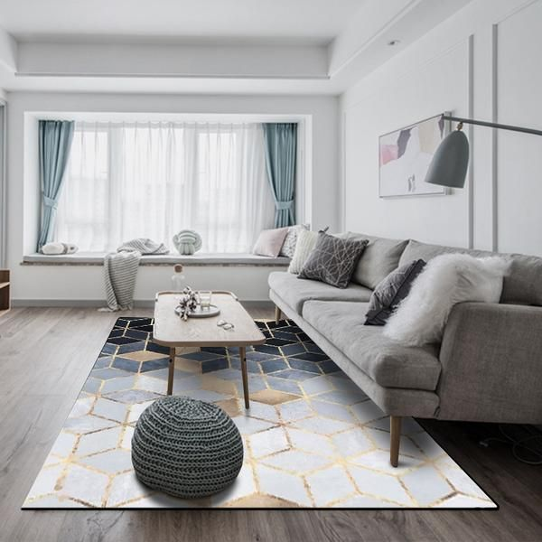 Bring warmth and style to your home restaurant or office with one of these fabulous rugs made from  premium cotton blend features anti slip technology also modern nordic mat in decorate it living room designs rh pinterest