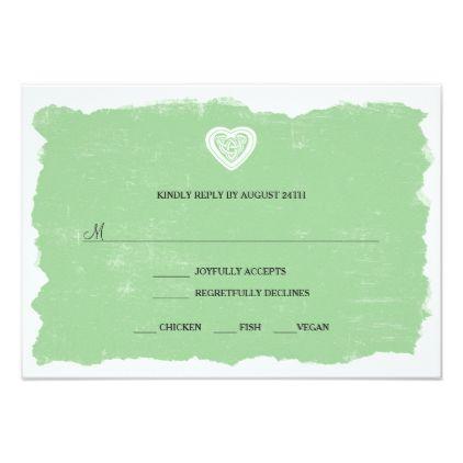 Irish celtic rsvp reply card menu option 3991 wedding invitations irish celtic rsvp reply card menu option 3991 wedding invitations cards custom invitation card design stopboris Choice Image