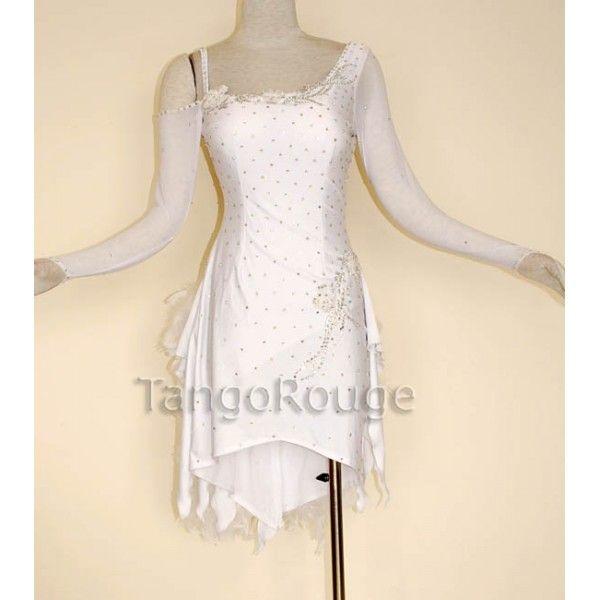 White salsa dress