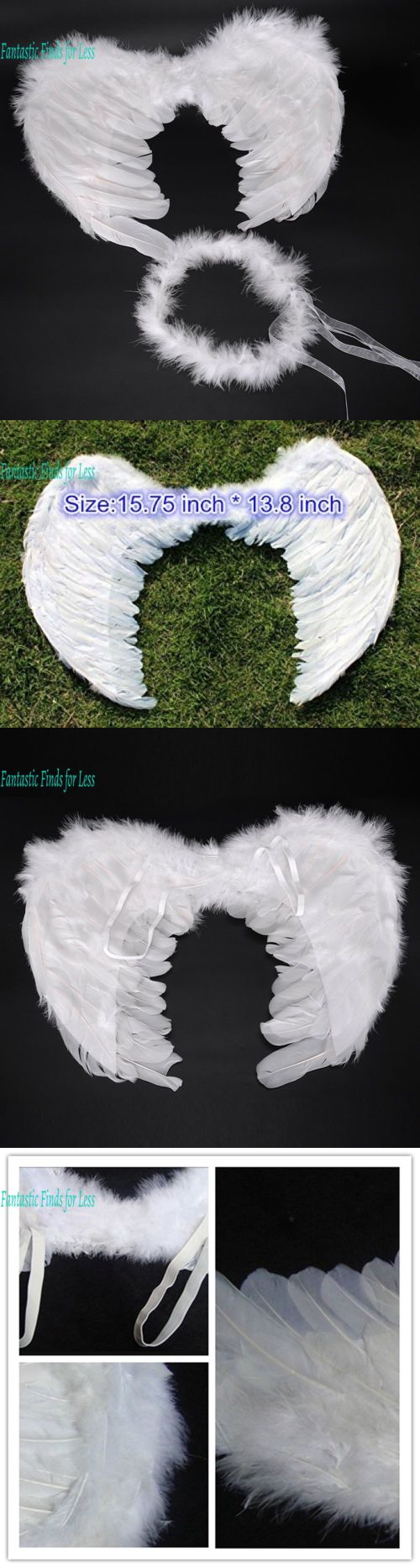Wings Tails Ears And Noses 155351 Angel For Cosplay Christmas Party Costumes