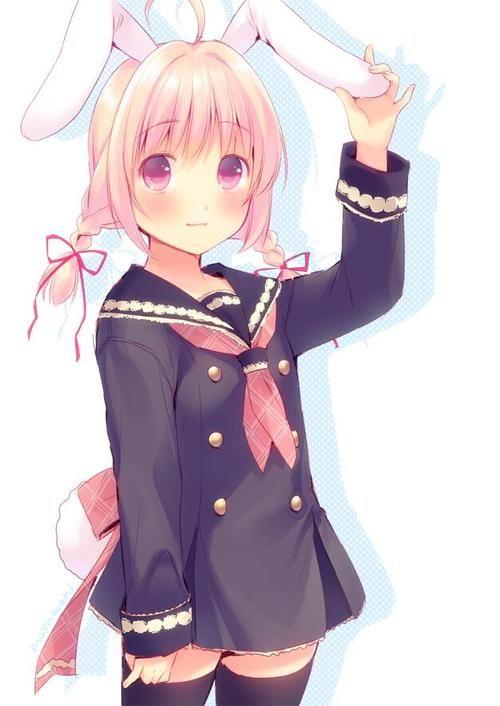 Cute Anime Rabbit ANIME ART rabbit girl....