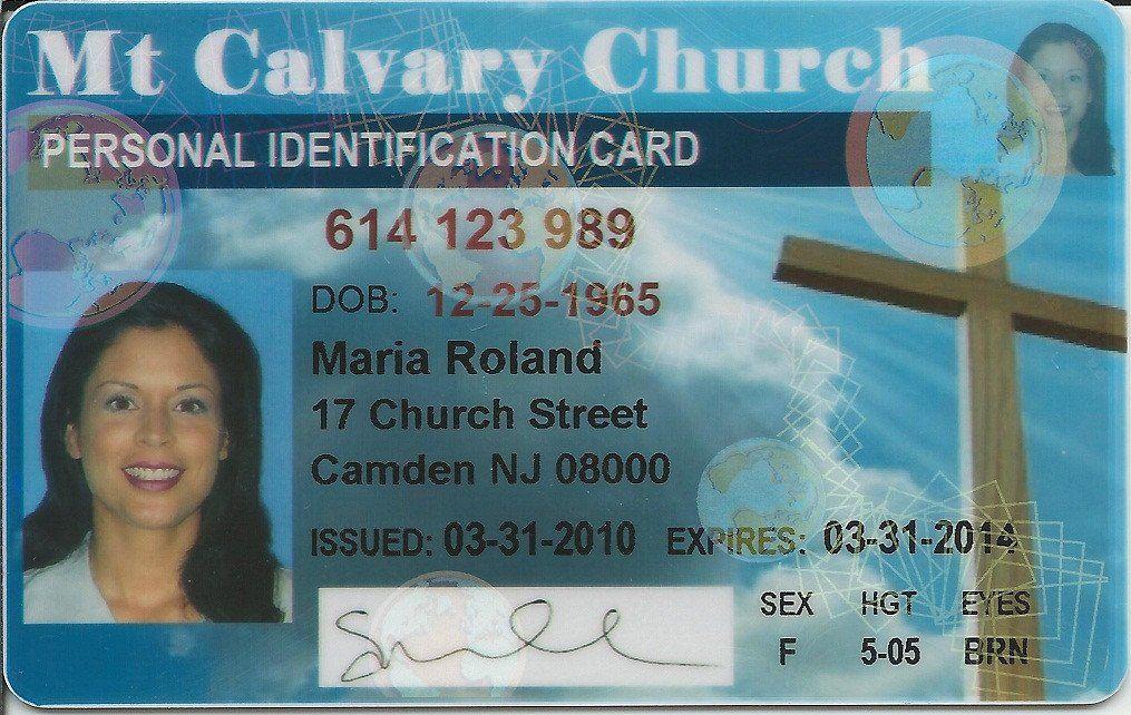 Church Membership Card Template Awesome Church Membership Id Cards Membership Card Card Template Name Badge Template