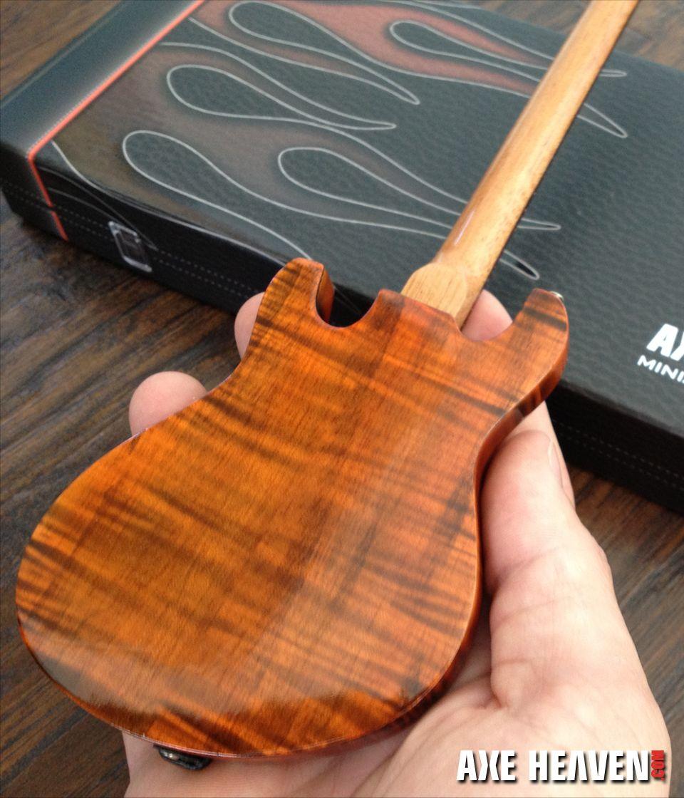 Trey Ocelot Guitar Replica Model Miniature guitars