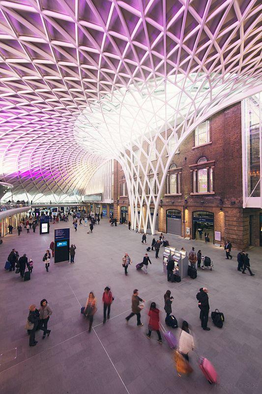 western concourse at king's cross station   via Love London Design ~ Cityhaüs Design