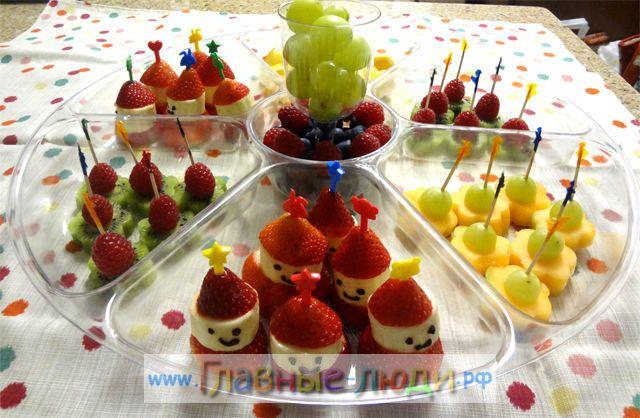 Украшения блюд на детский день рождения.(Фото) 2