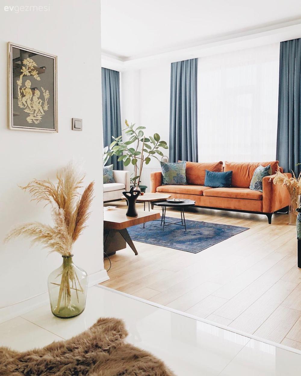 Photo of Bohem Etkiyi Seven Bu Ev Renklerin Gücüne Çok İnanıyor | Ev Gezmesi